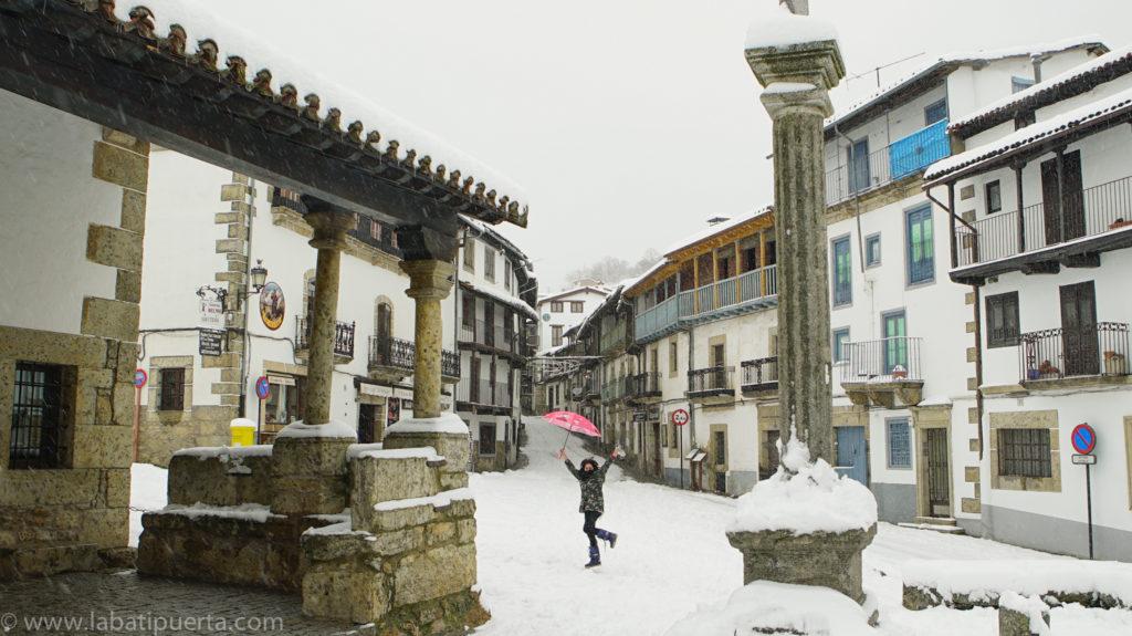 Casas rurales spa la batipuerta de candelario candelario nevado un placer para la vista - Candelario casa rural ...
